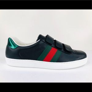 Gucci New Ace Strap Sylvie Web Sneakers 548699